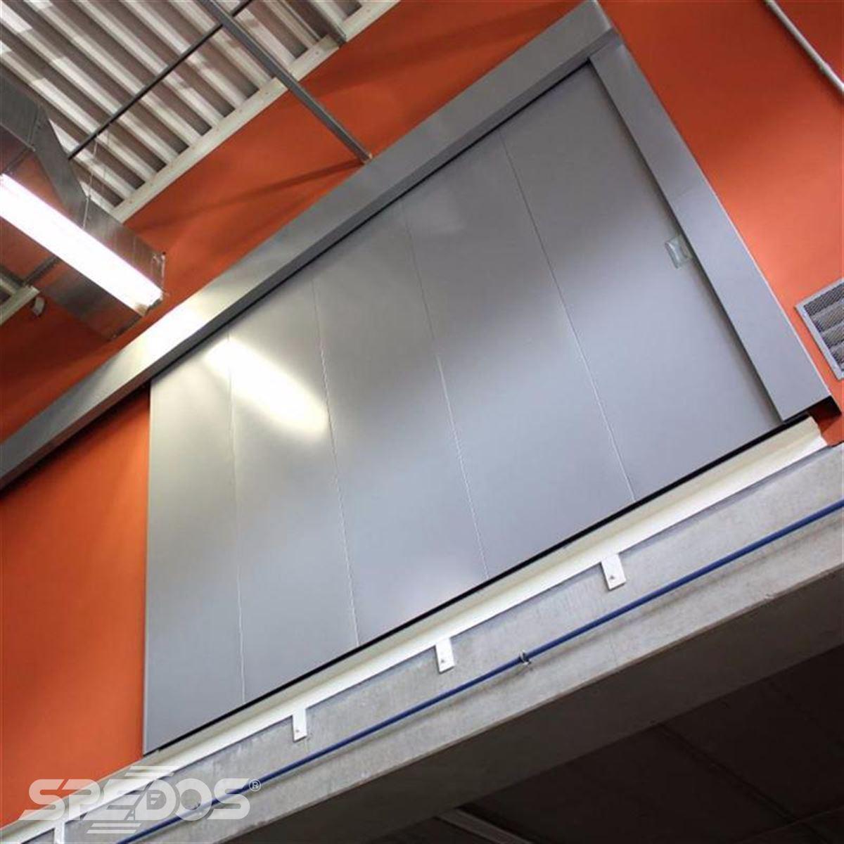 Protipožární posuvné dveře pro MD Brno