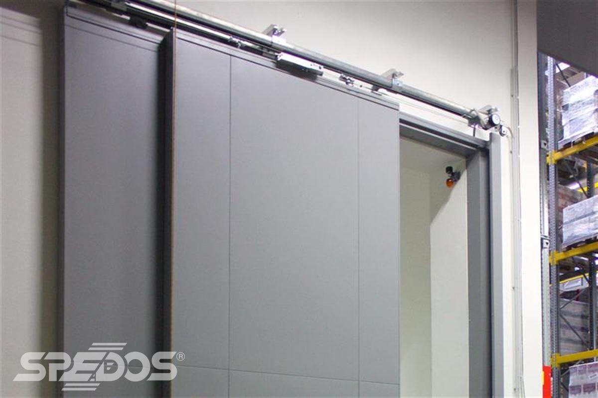 protipožární posuvné vrata úzká