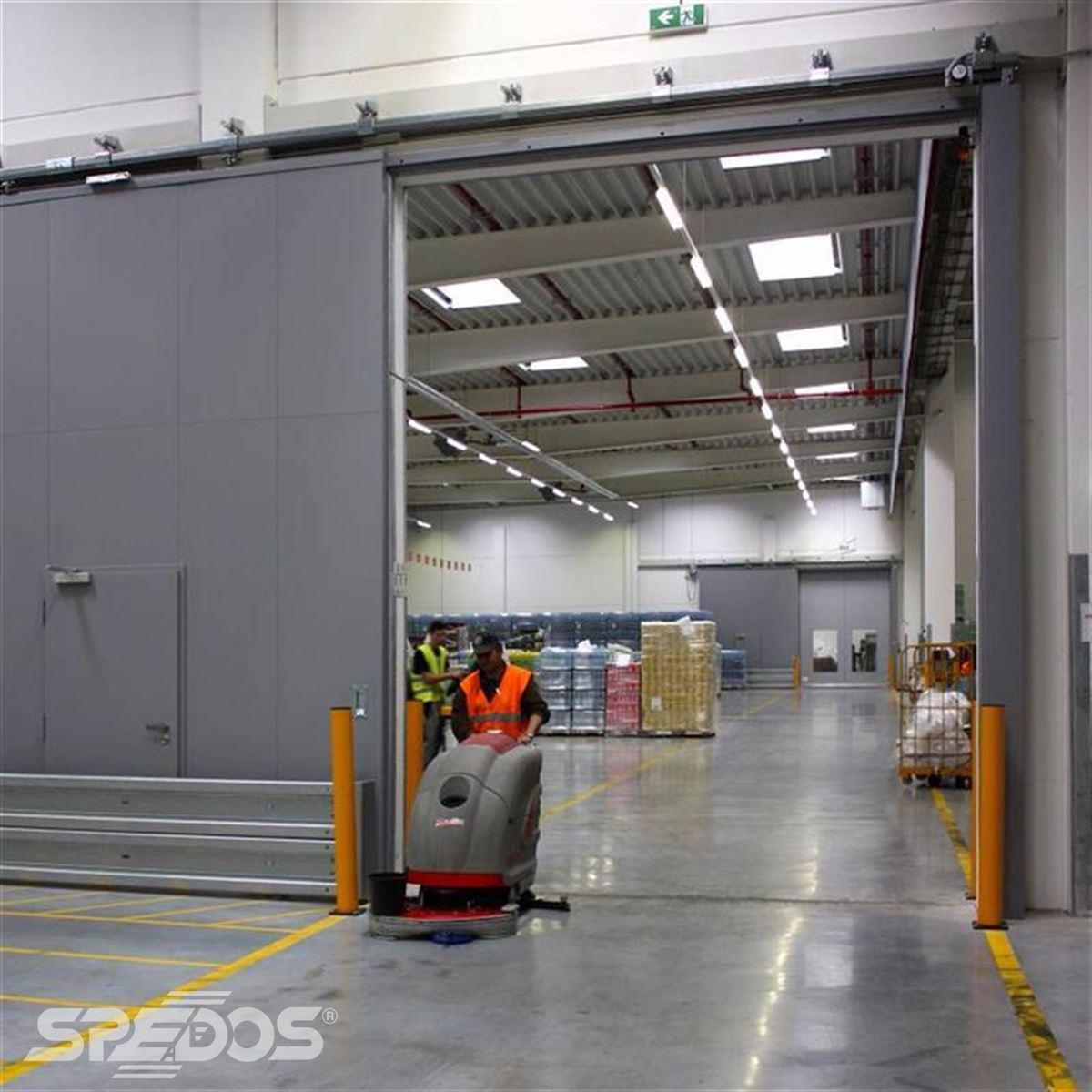 reference na protipožární posuvné vrata pro logistické centrum 2