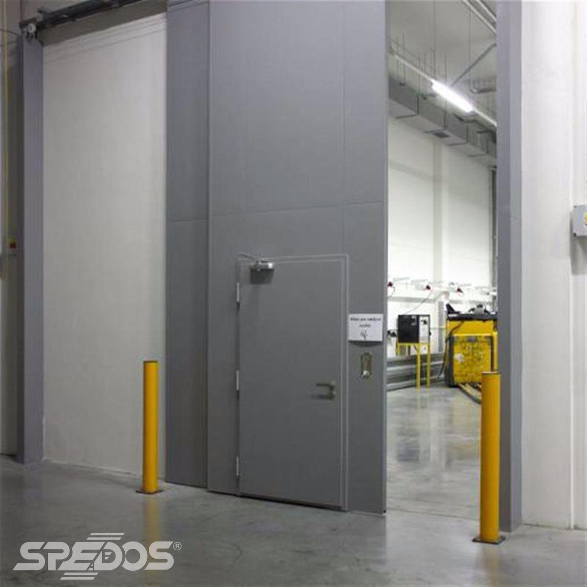 reference na protipožární posuvné vrata pro logistické centrum 7