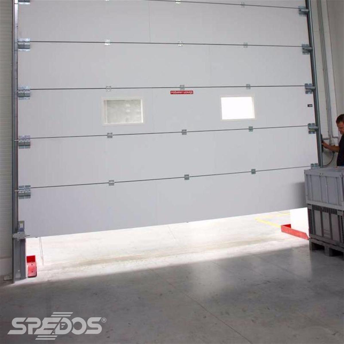 protipožární sekční vrata od Spedosu
