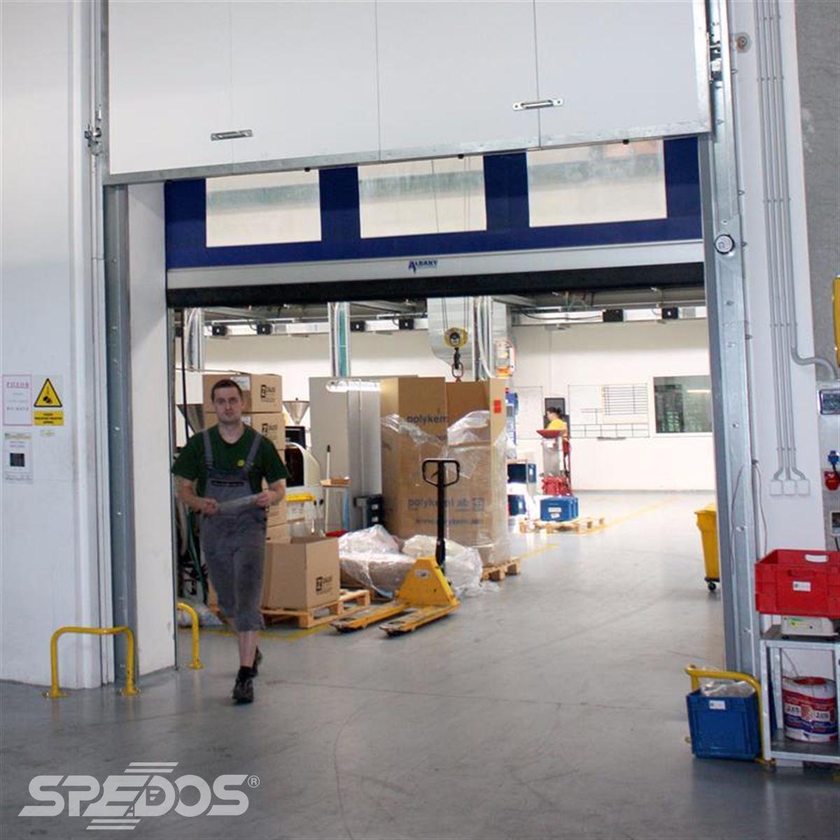 protipožární vrata výsuvná od Spedosu
