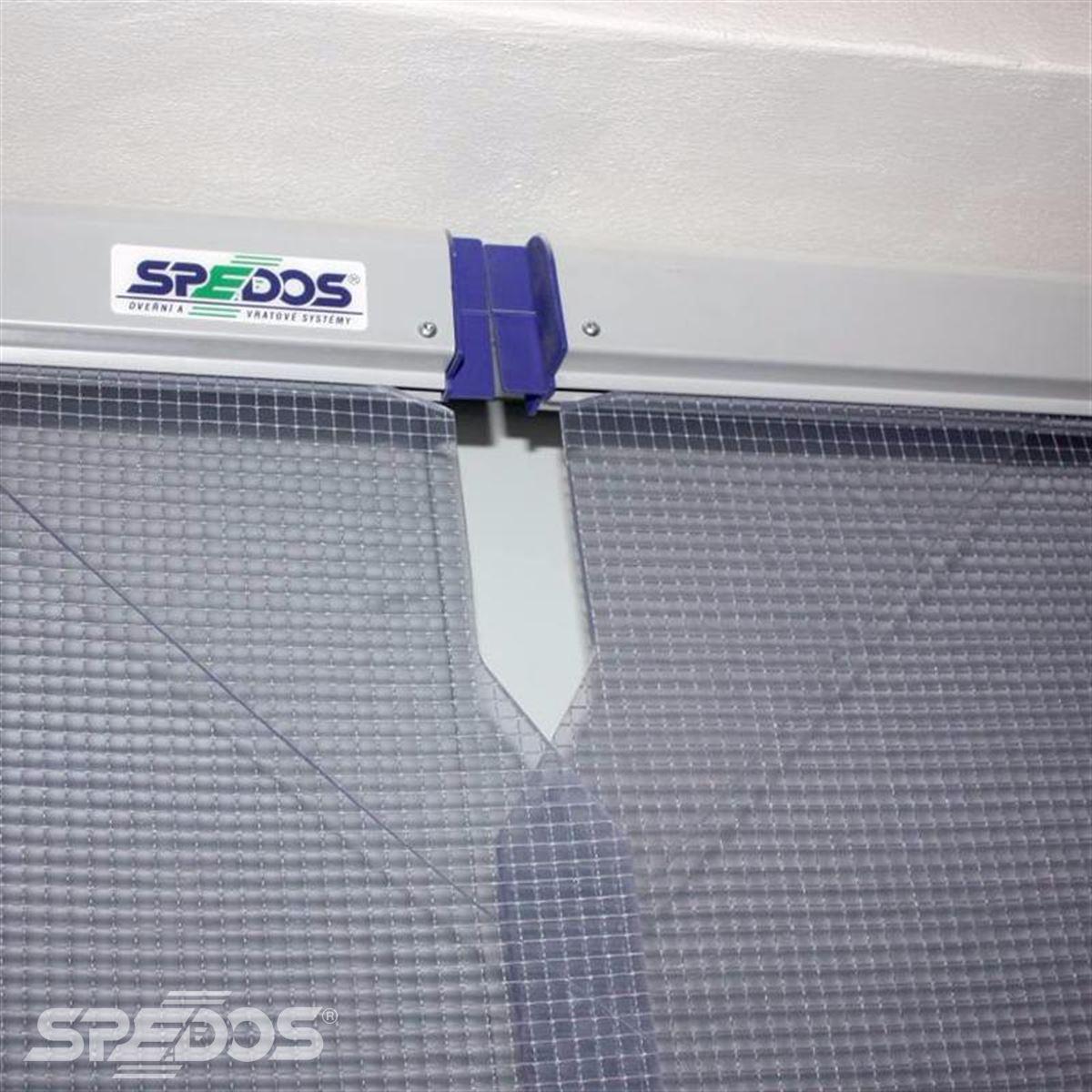Protiprůvanová pvc vrata Spedos