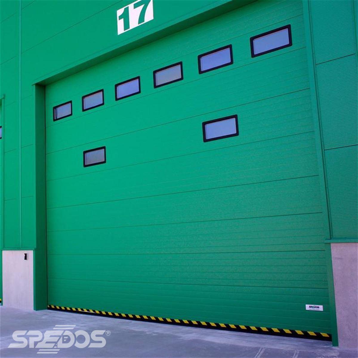 průmyslová sekční vrata od Spedosu
