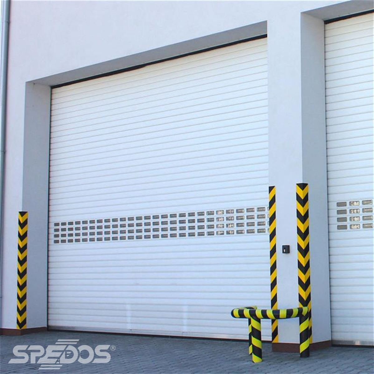 průmyslové rolovací vrata od Spedosu
