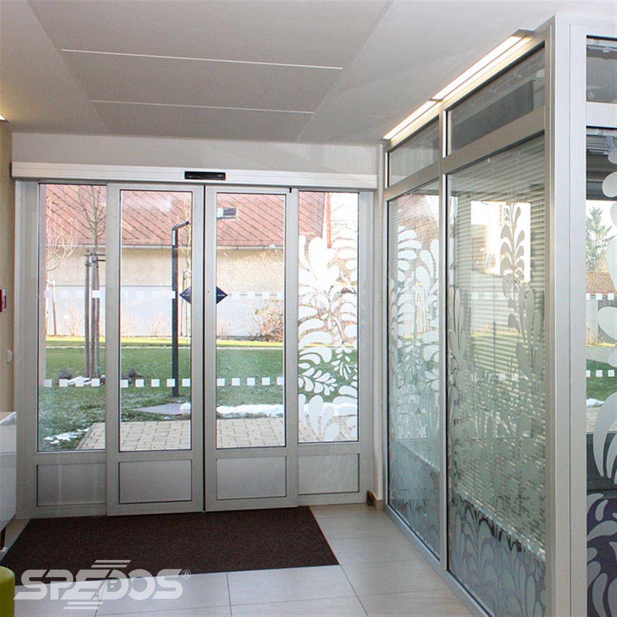 Posuvné automatické dveře dvoukřídlé 5