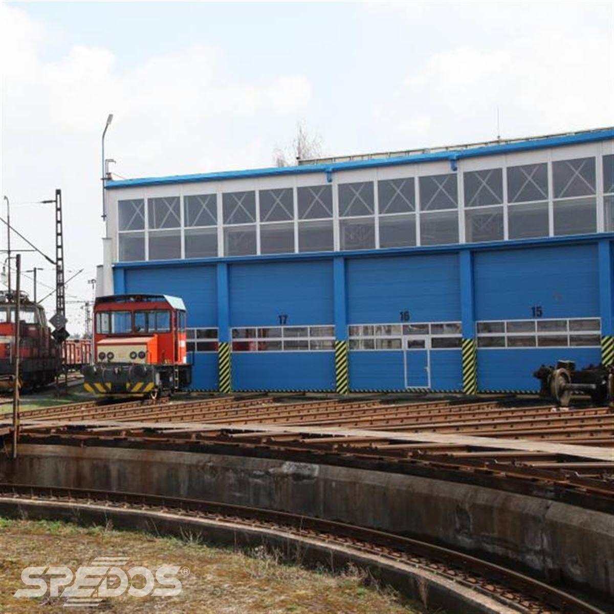 rekonstrukce železničního depa