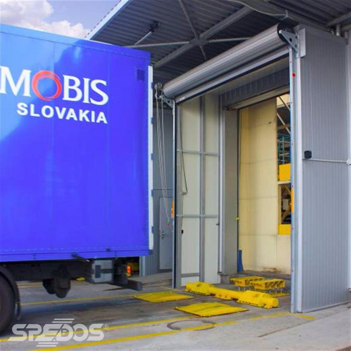 Garážová vrata pro průmyslové užití Spedos