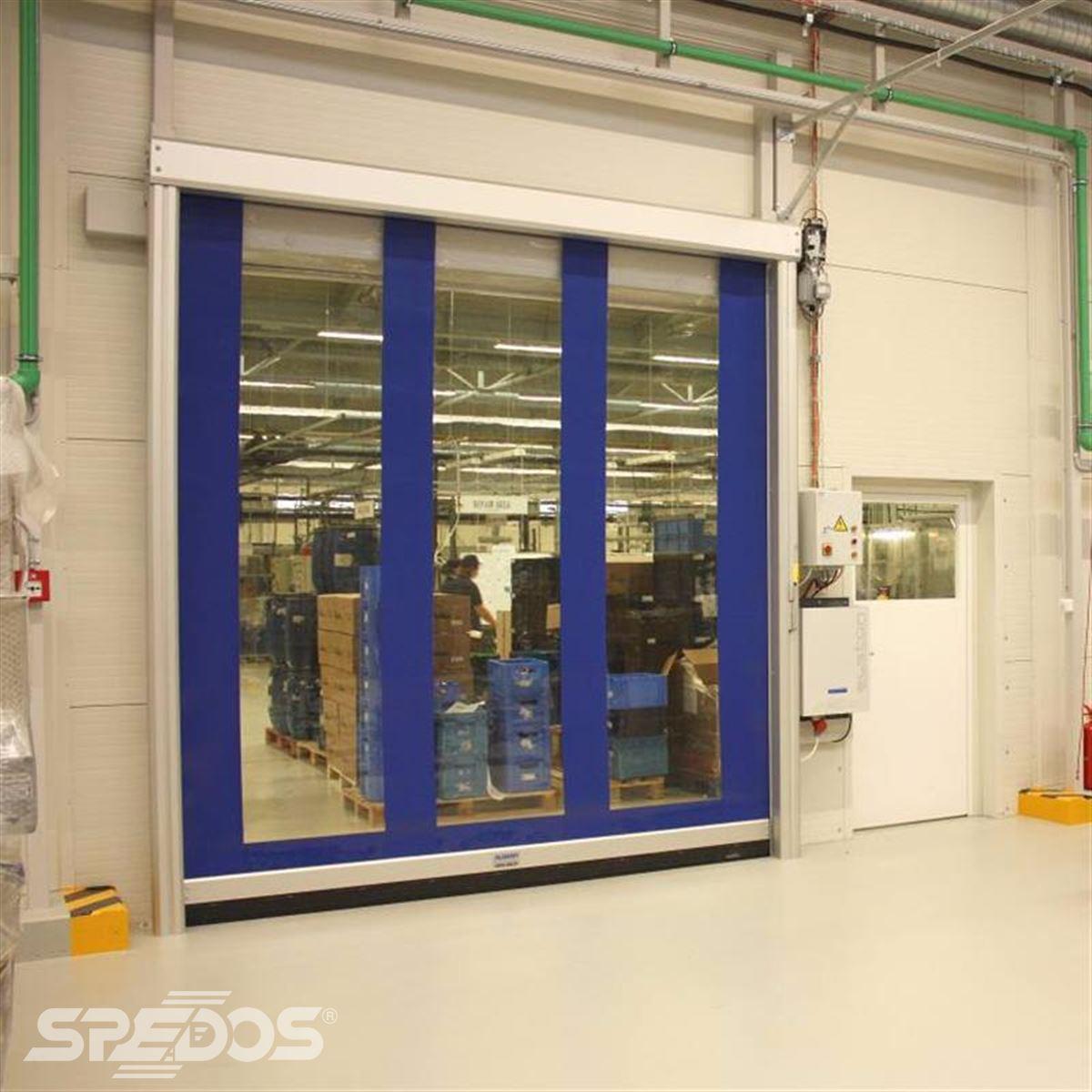 rychloběžná vrata reference pro průmyslový areál Robertshaw