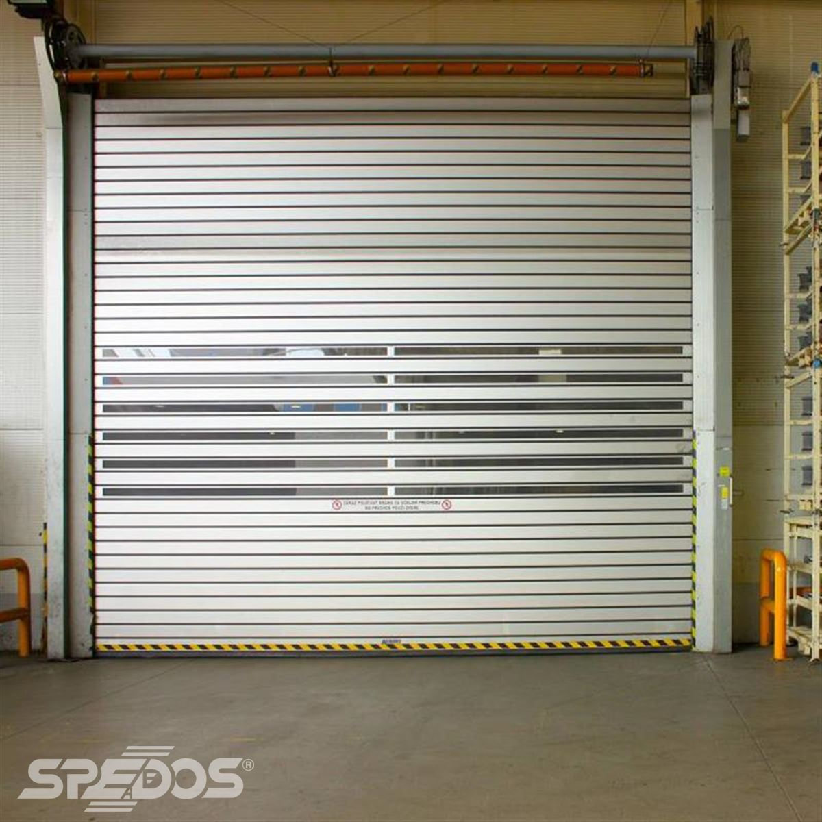 Rychloběžná vrata s rychlým navíjením Spedos