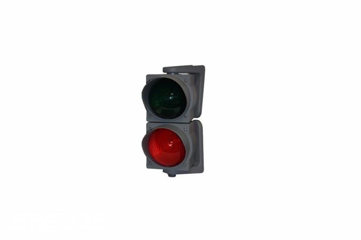 semafor k nakládacím rampám