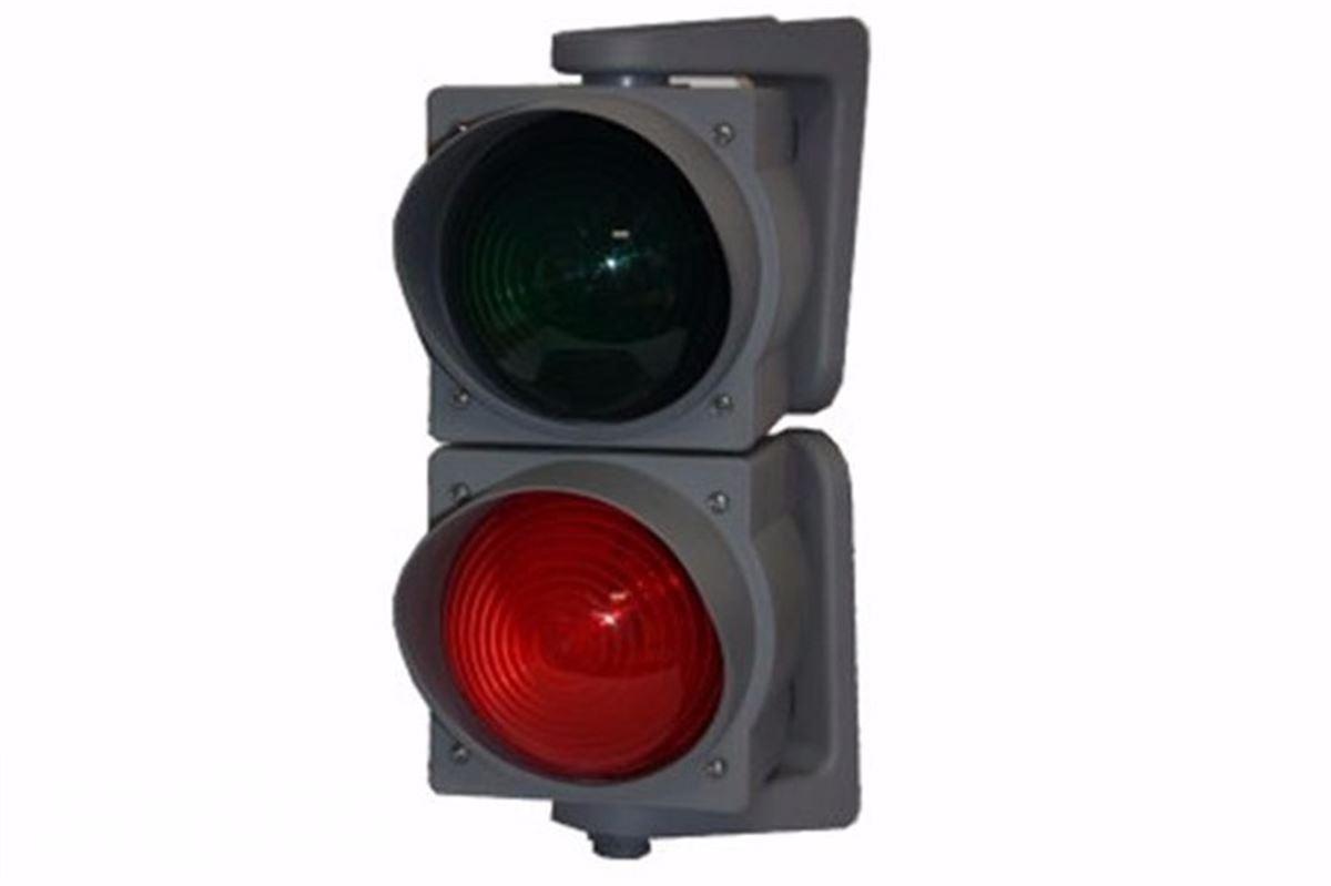 semafor na průmyslová vrata