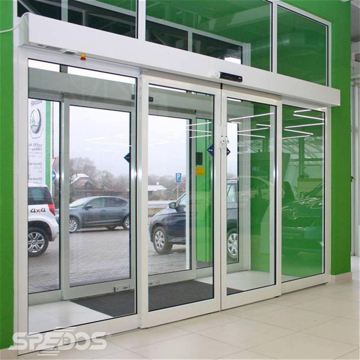 reference na sklopnou variantu automatických posuvných dveří 4