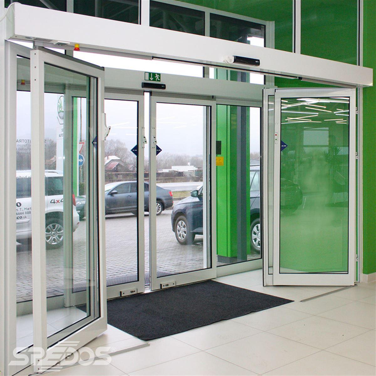 reference na sklopnou variantu automatických posuvných dveří 5