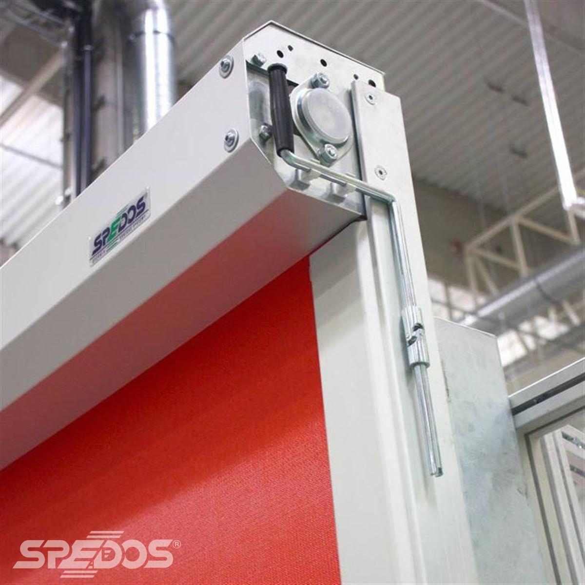 Rychloběžná vrata s frekvenčním měničem