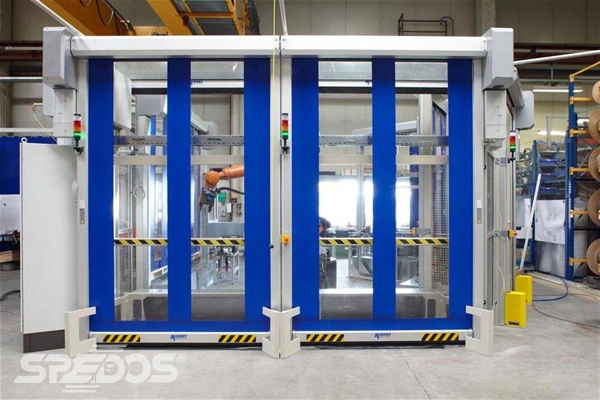 konstrukce speciálních rychloběžných vrat