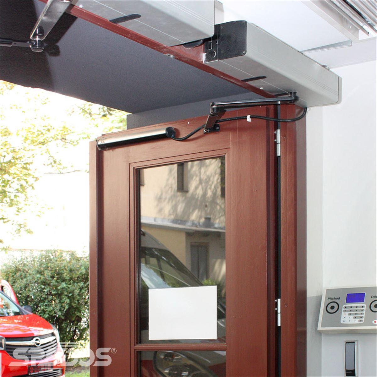 Elektropohon pro těžké dveře