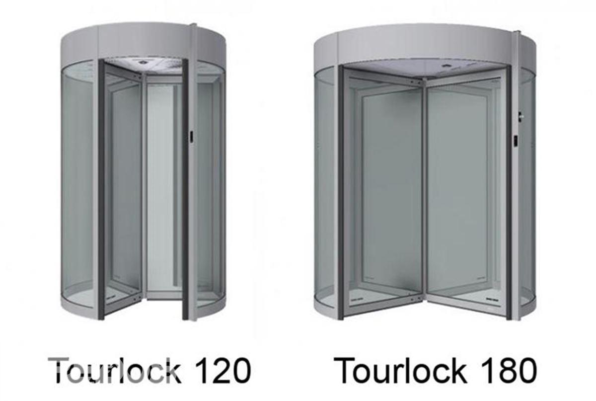 Turniketové dveře Tourlock konstrukce
