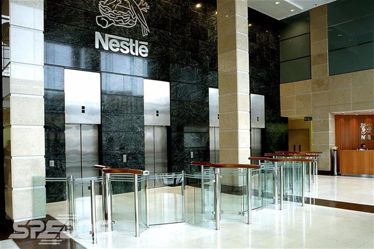 Turniketový systém pro Nestlé