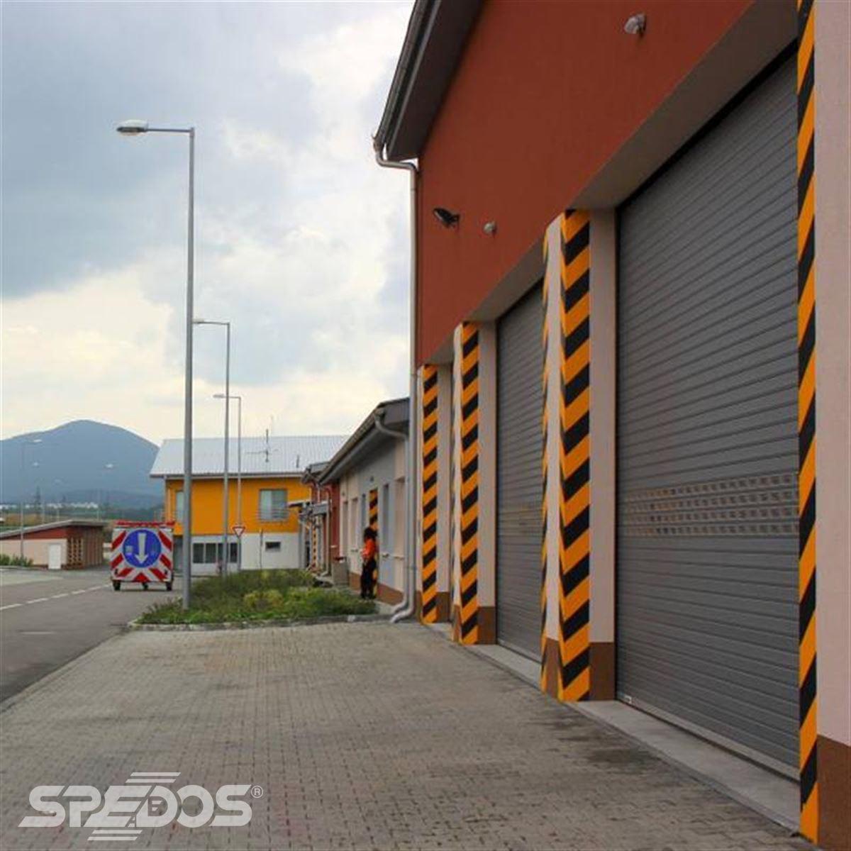 vnější průmyslová rolovací vrata 3