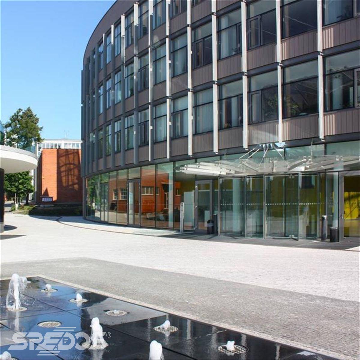 vstup do univerzitního centra Zlín