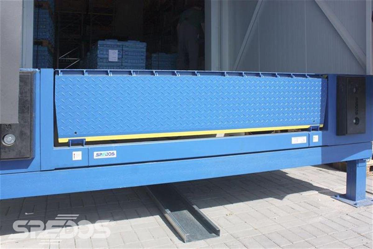 hydraulický můstek VMSL se sklopnou lištou modrý