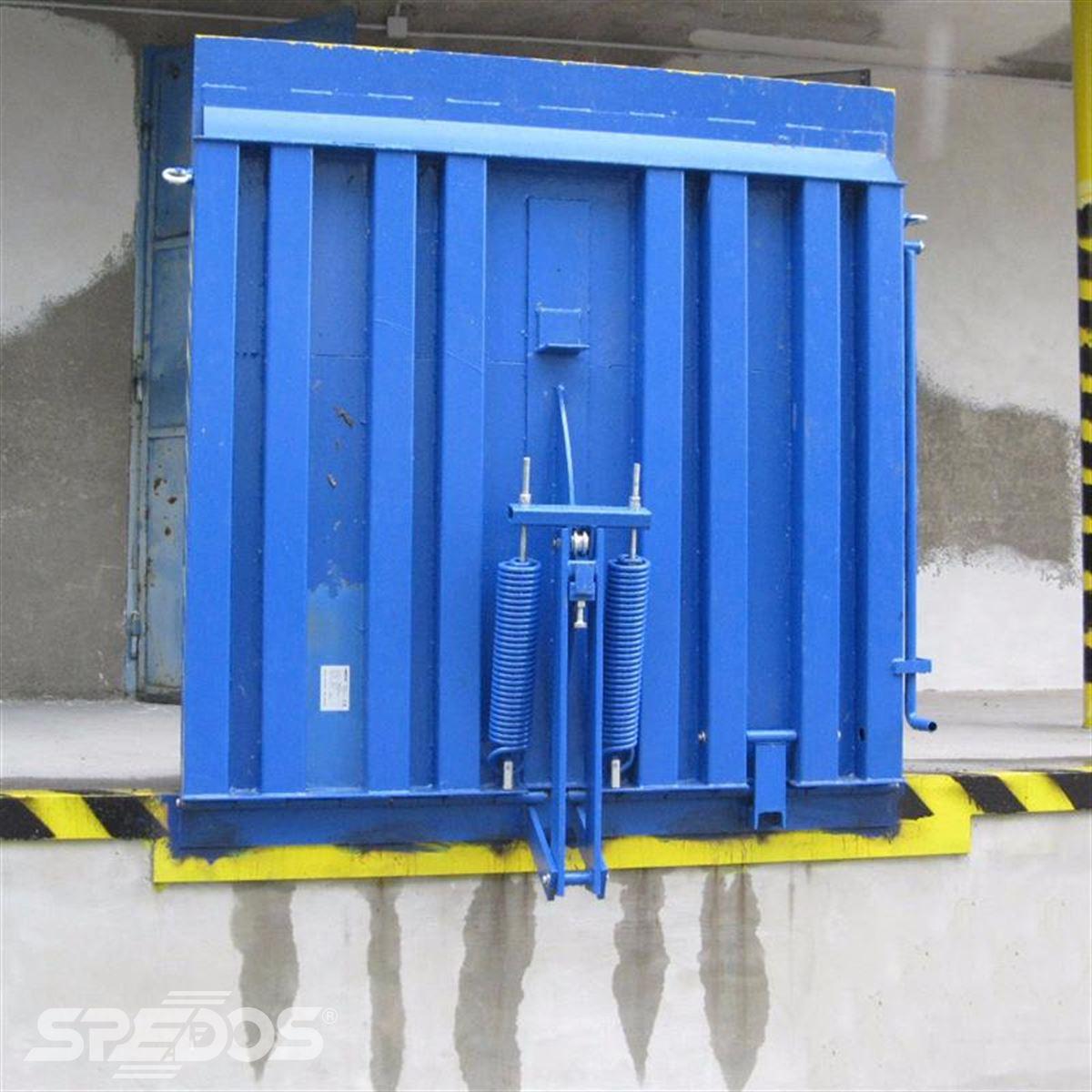 Vyrovnávací nakládací můstek rampa sklopná Spedos