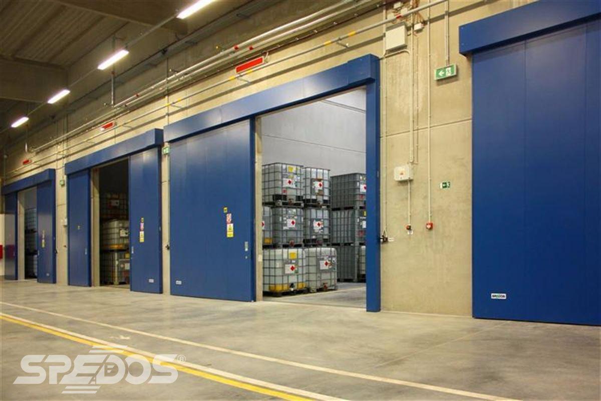 Protipožární posuvná vrata pro EURO - Šarm