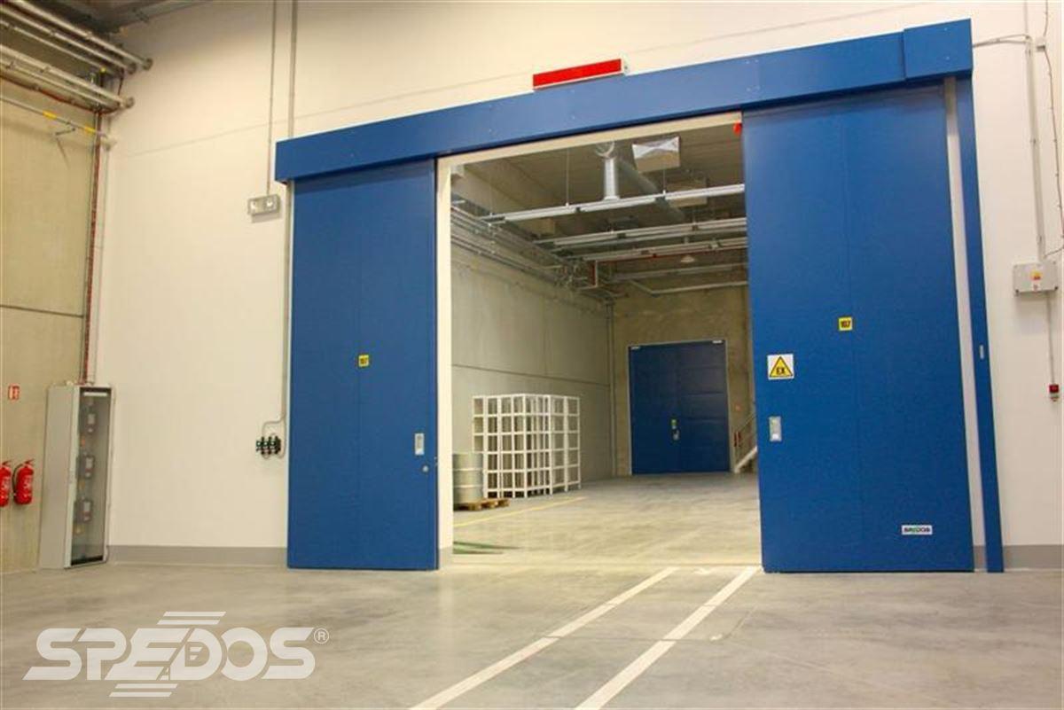 Protipožární posuvná vrata pro EURO - Šarm 6