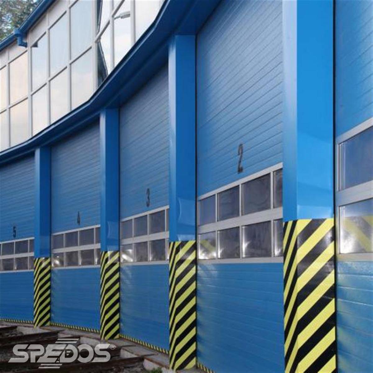 zateplená sekční vrata Spedos