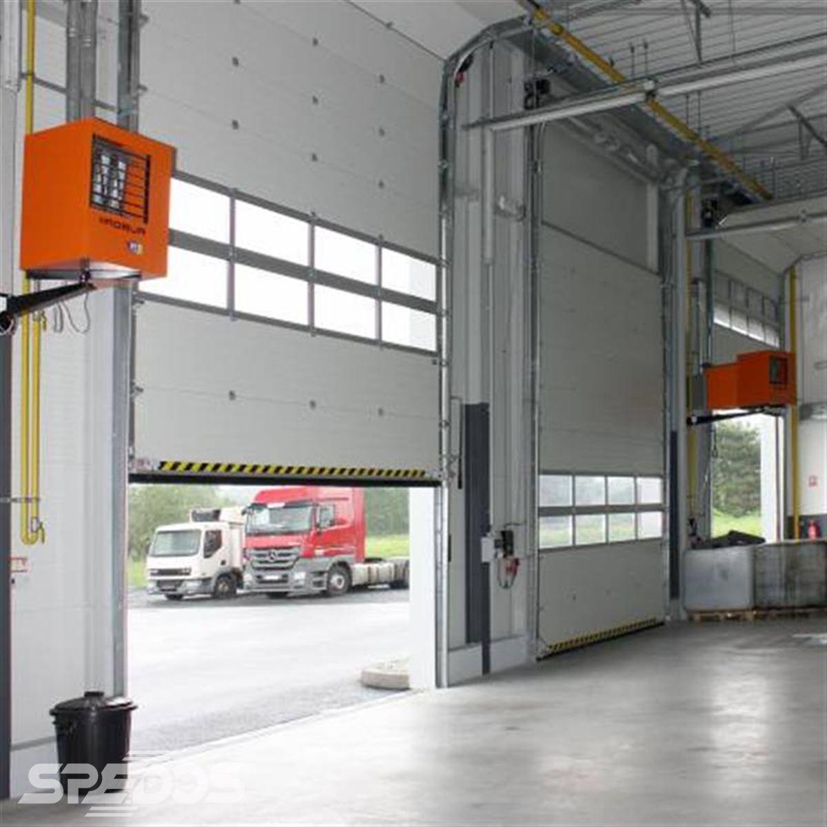 průmyslová sekční vrata Spedos
